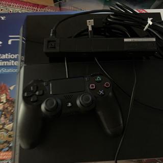 プレイステーション4(PlayStation4)のPlayStation®4 ジェット・ブラック CUH-1000A A01(家庭用ゲーム本体)