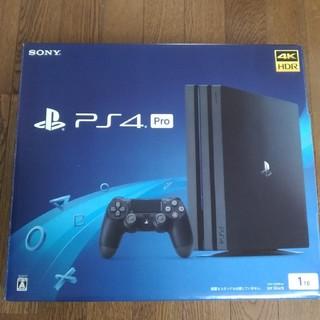 プレイステーション4(PlayStation4)のPlayStation4 Pro ジェット・ブラック 1TB(家庭用ゲーム本体)
