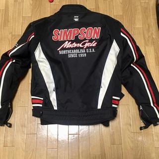 シンプソン(SIMPSON)のシンプソン ライダースジャケット  LL(装備/装具)