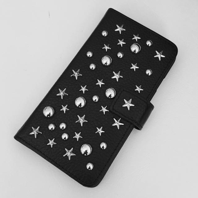 iphone7 カバー 薄い | ENLA Dreamy Stars ☆ スタースタッズ ☆ iPhoneケース黒の通販 by heavenly's shop|ラクマ