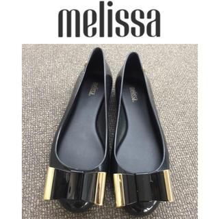 メリッサ(melissa)のmelissa メリッサ レインシューズ 24cm(バレエシューズ)