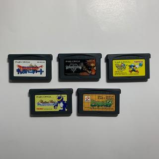 ゲームボーイアドバンス(ゲームボーイアドバンス)のゲームボーイアドバンス ソフト 5本セットのみ(携帯用ゲームソフト)