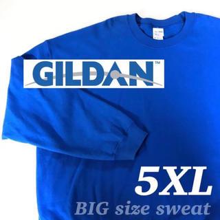 ギルタン(GILDAN)の▼ GILDAN 5XL BLUE sweat ▼(スウェット)