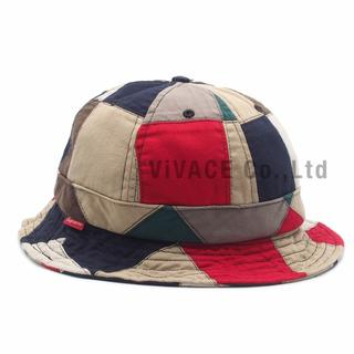 シュプリーム(Supreme)のSupreme Patchwork Bell Hat S/M(ハット)