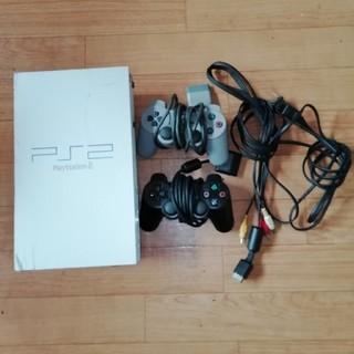 プレイステーション2本体 コントローラー2個セット(家庭用ゲーム本体)