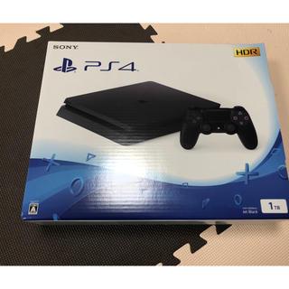 プレイステーション4(PlayStation4)の新品未開封☆PS4 1TB(家庭用ゲーム本体)