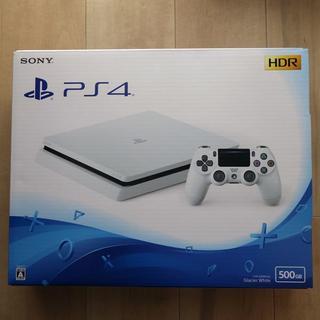 ソニー(SONY)のPlaystation4 グレイシャー・ホワイト CUH-2200AB02 新品(家庭用ゲーム本体)