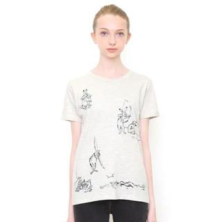 グラニフ 鳥獣戯画Tシャツ