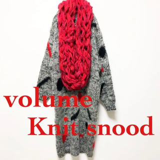▼ used red snood ▼(スヌード)