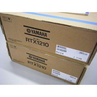 ヤマハ(ヤマハ)のgottu様専用 YAMAHA RTX1210 2台セット(PC周辺機器)