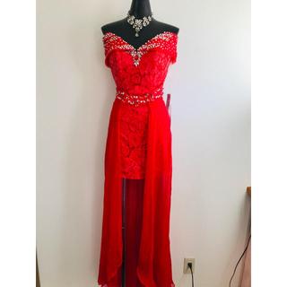 アンディ(Andy)の新品2.5万 IRMA ドレス メゾンドボーテ  rady ショートインロング (ロングドレス)