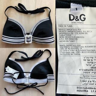 ディーアンドジー(D&G)のドルチェ&ガッバーナ水着白黒ビキニD&G1ドルガバ(水着)