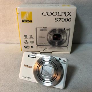 Wi-Fi対応 Nikon デジタルカメラ COOLPIX S7000