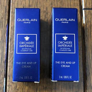 ゲラン(GUERLAIN)のゲラン オーキデアンペリアル ザ アイ アンド リップ サンプル 2本(アイケア / アイクリーム)