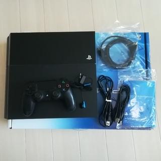 ソニー(SONY)のPS4 本体  CUH-1100A B01  500GB(家庭用ゲーム本体)
