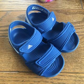 アディダス(adidas)のadidas キッズ サンダル 13センチ(サンダル)