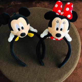 Disney - ★美品★ ディズニー カチューシャ 2点set