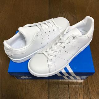 アディダス(adidas)の送料無料 新品 ★ アディダス スタンスミス J ホワイト(スニーカー)