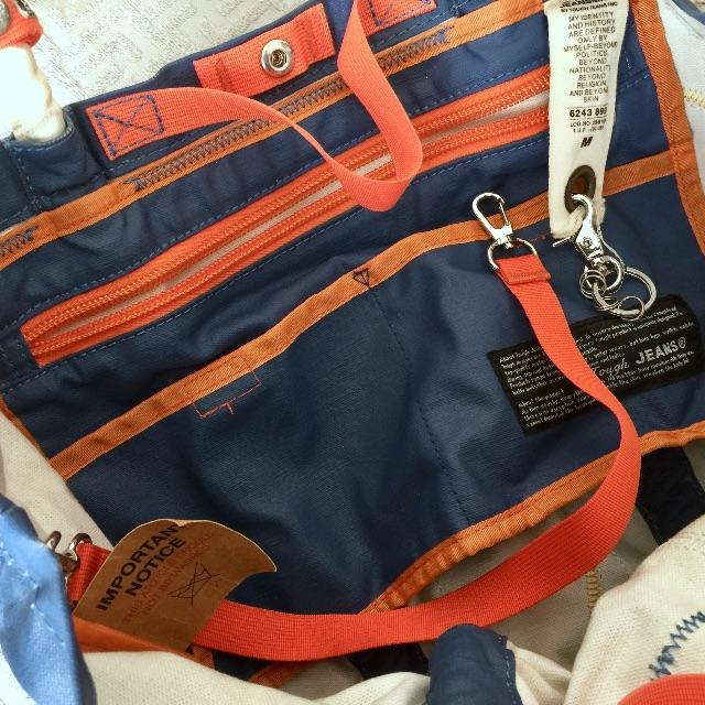 TOUGH(タフ)のTOUGH タフ jeansmith トートバッグ ミニポーチ付 メンズのバッグ(トートバッグ)の商品写真