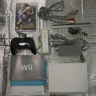 ウィー(Wii)のWii セット(ファイナルファンタジー ソフト&クラシックコントローラ付き)(家庭用ゲーム本体)