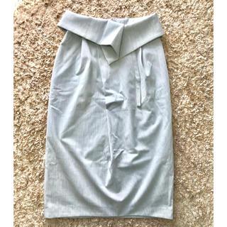 sophila ウエスト折り返しスカート(ロングスカート)