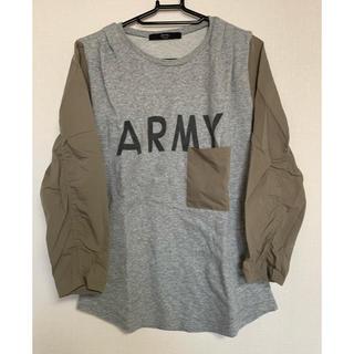 アナザーエディション(ANOTHER EDITION)のAnother Edition デザインTシャツ(Tシャツ(長袖/七分))