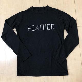 アヴァンリリィ 長袖 Tシャツ カットソー ロンT フリー free 黒ブラック(Tシャツ(長袖/七分))