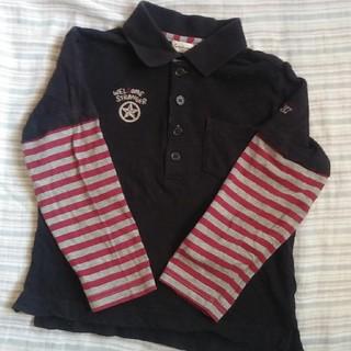 コンビミニ(Combi mini)のコンビミニ 重ね着風 長袖ポロシャツ 110cm(Tシャツ/カットソー)