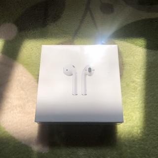 アップル(Apple)のApple AirPods 純正品 新品(ヘッドフォン/イヤフォン)