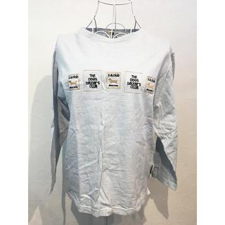 cost bazar 犬 dog 刺繍 カットソー (Tシャツ(長袖/七分))