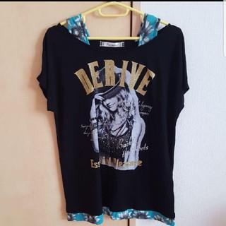 黒の半袖(Tシャツ(半袖/袖なし))