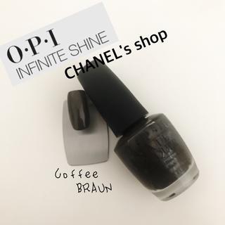 オーピーアイ(OPI)のOPI Coffee brown(マニキュア)