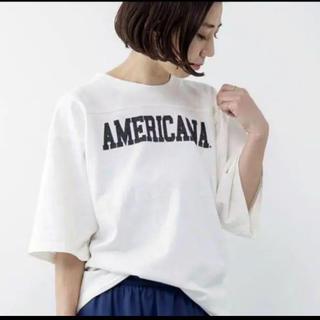 ドゥーズィエムクラス(DEUXIEME CLASSE)のドゥーズィエムクラス アメリカーナ Tシャツ ロゴ(Tシャツ(半袖/袖なし))