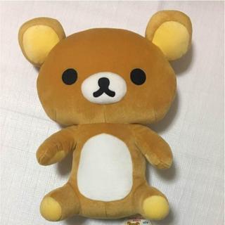 サンエックス(サンエックス)のリラックマ ぬいぐるみ ジャンボぬいぐるみEX おすわり 非売品 熊 クマ(ぬいぐるみ/人形)