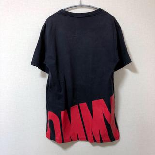 トミー(TOMMY)の【日本製】バックがカッコいい! トミー  Tシャツ ネイビー(Tシャツ/カットソー(半袖/袖なし))