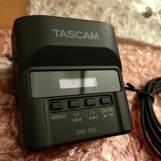 DR-10L TASCAM ピンマイクレコーダー