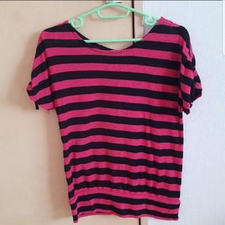 ボーダー半袖(Tシャツ(半袖/袖なし))