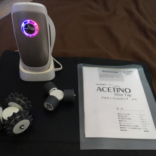 ソニー(SONY)のACETINO (アセチノ) スリムタップ フルセット 防水加工♪付属品完備!(エクササイズ用品)