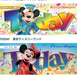 ディズニー(Disney)のディズニー Today トゥデイ パンフレット (キャラクターグッズ)