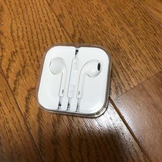 アップル(Apple)のiPhoneの付属品の純正イヤホン(ヘッドフォン/イヤフォン)