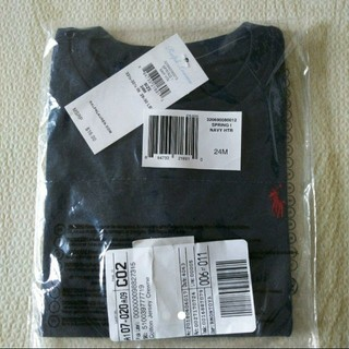 ラルフローレン(Ralph Lauren)の【新品】RALPH LAURENポニー Tシャツ  24m  (Tシャツ/カットソー)