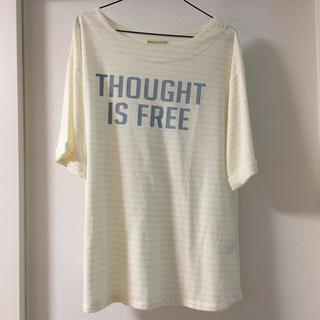 ナイスクラップ(NICE CLAUP)のNICE CLAUP 半袖 ビッグTシャツ フリーサイズ(Tシャツ(半袖/袖なし))