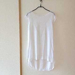 ザラ(ZARA)のZARA トップス(Tシャツ(半袖/袖なし))