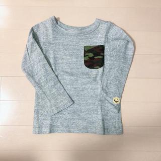 ブリーズ(BREEZE)のBREEZE グレーロンT  90cm(Tシャツ/カットソー)