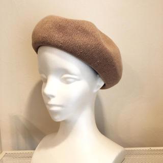 コットンサーモベレー帽☆ピンク(ハンチング/ベレー帽)
