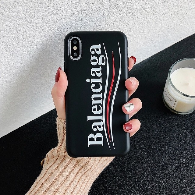 iphone8 耐衝撃ケース 手帳 、 Balenciaga - iphonecase iphoneケース ブランド 人気 可愛い iphonexの通販 by 色々あるよ's shop|バレンシアガならラクマ