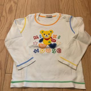 ミキハウス(mikihouse)のミキハウス ロンT ❤︎90(Tシャツ/カットソー)