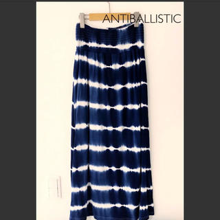 ANTIBALLISTIC アンティバルリスティック スカート(ロングスカート)