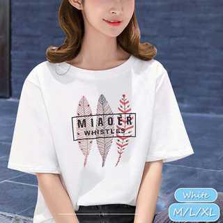【春夏先取りセール♡】ゆったり ロゴTシャツ(Tシャツ(半袖/袖なし))