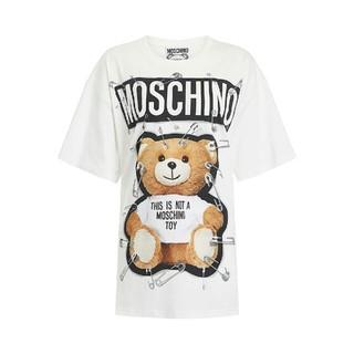 モスキーノ(MOSCHINO)のMOSCHINO/ Teddy Bear /半袖/Tシャツ /ホワイト(Tシャツ(半袖/袖なし))